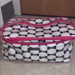 kate spade traveling makeup case, 3 in 1